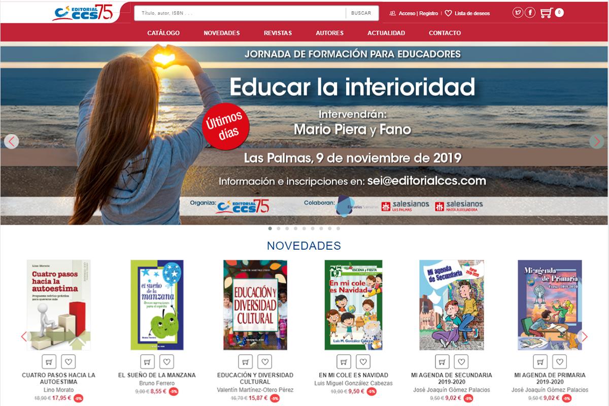 Portal Web para editorial CCS