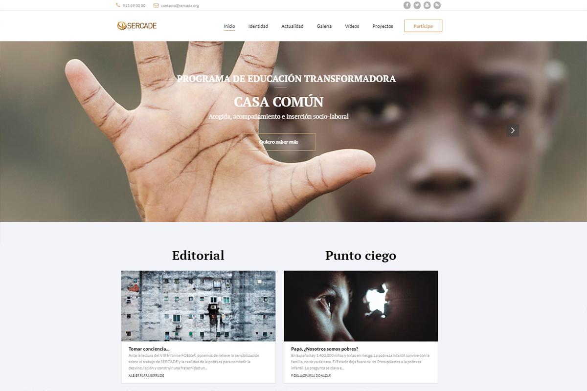 Nueva página Web de SERCADE